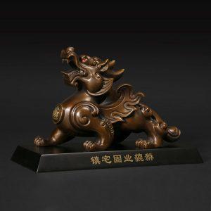 1JB18019 Pixiu Pi Yao Statue Sale (25)