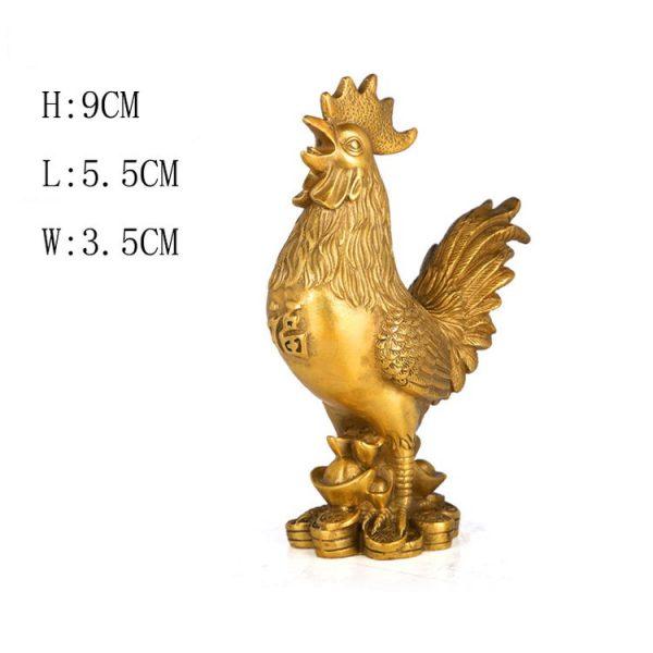 1JB18020 Feng Shui Chicken Statue (1)