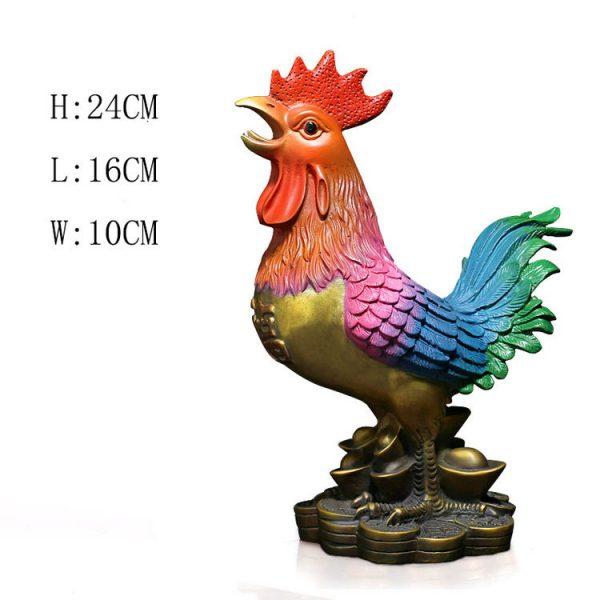1JB18020 Feng Shui Chicken Statue (12)