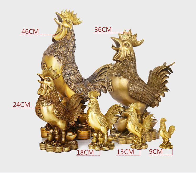 1JB18020 Feng Shui Chicken Statue (13)