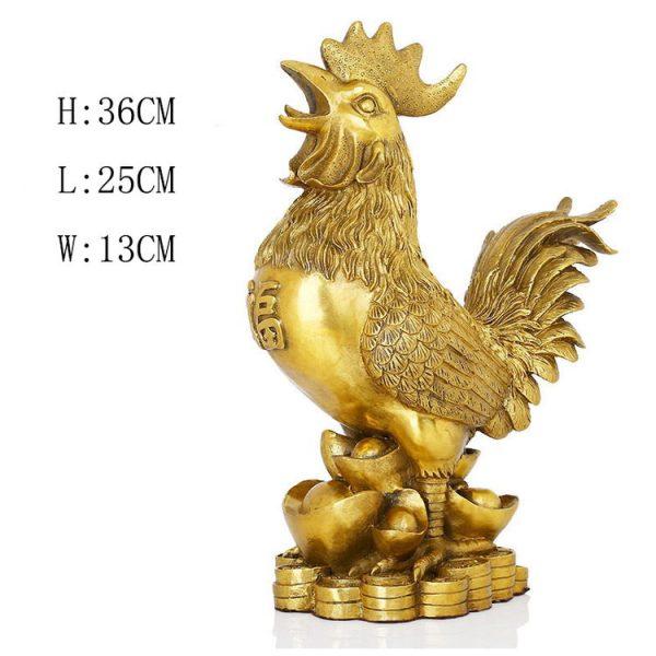 1JB18020 Feng Shui Chicken Statue (5)