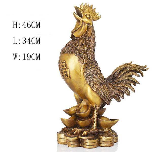 1JB18020 Feng Shui Chicken Statue (6)