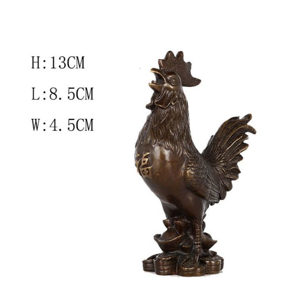 1JB18020 Feng Shui Chicken Statue (7)