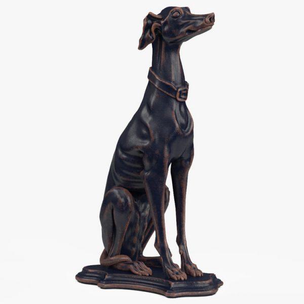 1I801007 Greyhound Sculpture China Maker (1)