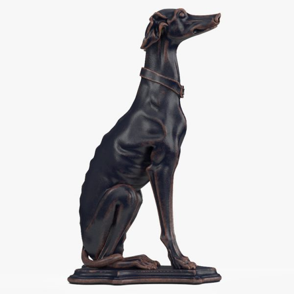 1I801007 Greyhound Sculpture China Maker (3)