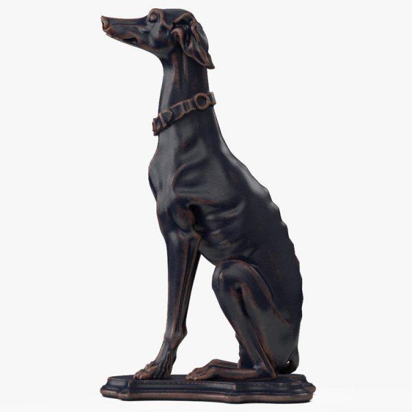1I801007 Greyhound Sculpture China Maker (5)