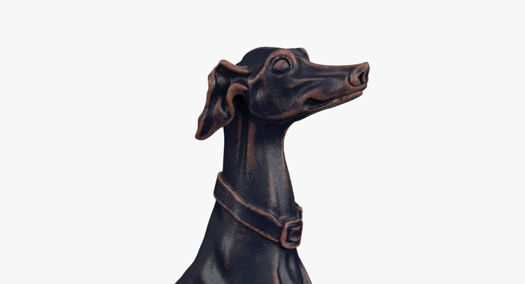 1I801007 Greyhound Sculpture China Maker (6)