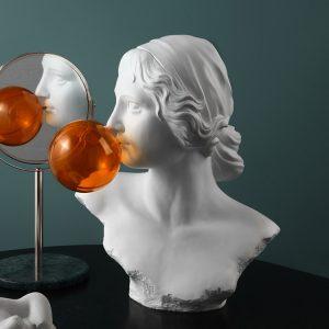 1JC18002 Bubble Statue Estátua Vênus Online Sale (1)