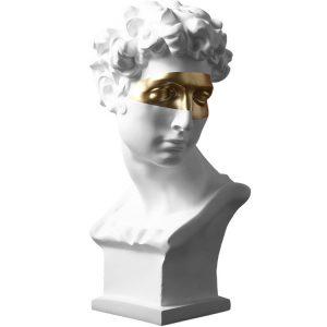 1JC18003 Estátua David Statue Home Decoration (4)