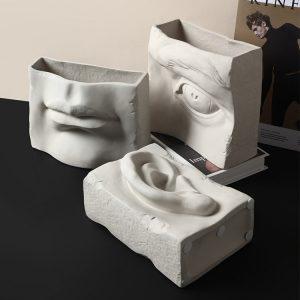 1JC18005 Eye Vase Ceramic China Maker