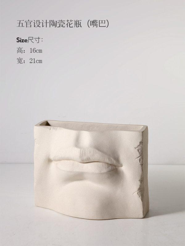 1JC18005 مصنع الصين زهرية الفم السيراميك 01