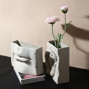 1JC18005 Mouth Vase Ceramic China Factory