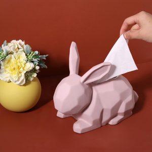 1JC21003 Rabbit Tissue Box Online Sale (1)