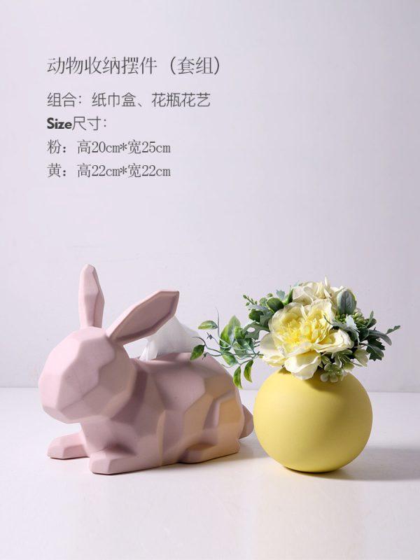 1JC21003 Rabbit Tissue Box Online Sale (29)