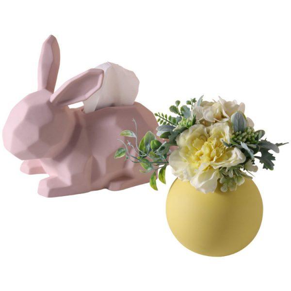 1JC21003 Rabbit Tissue Box Online Sale (3)