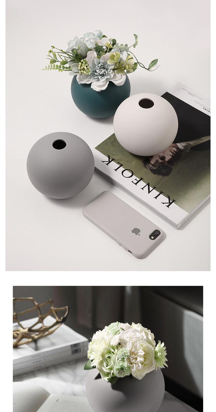 1JC21004 Cooee Ball Vase China Maker (21)