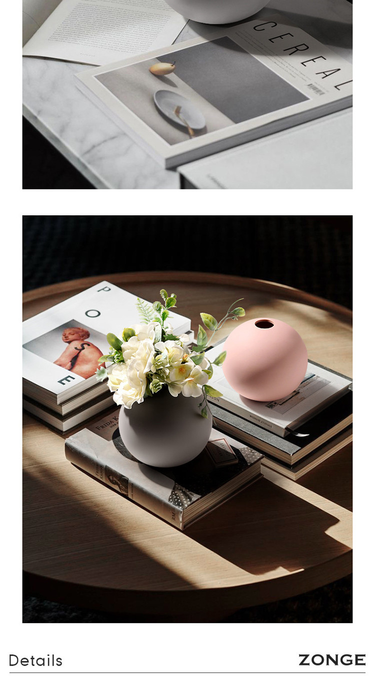1JC21004 Cooee Ball Vase China Maker (22)