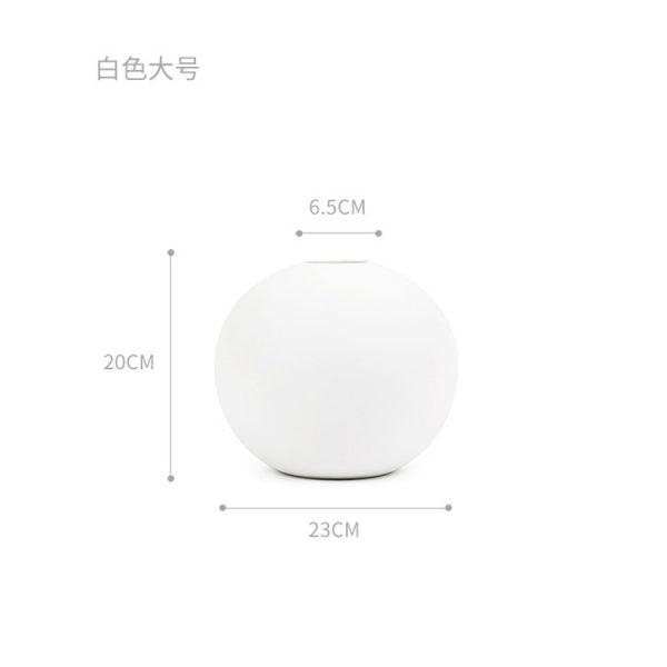 1JC21004 Cooee Ball Vase China Maker (36)