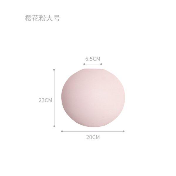 1JC21004 Cooee Ball Vase China Maker (37)
