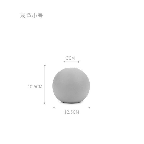 1JC21004 Cooee Ball Vase China Maker (38)