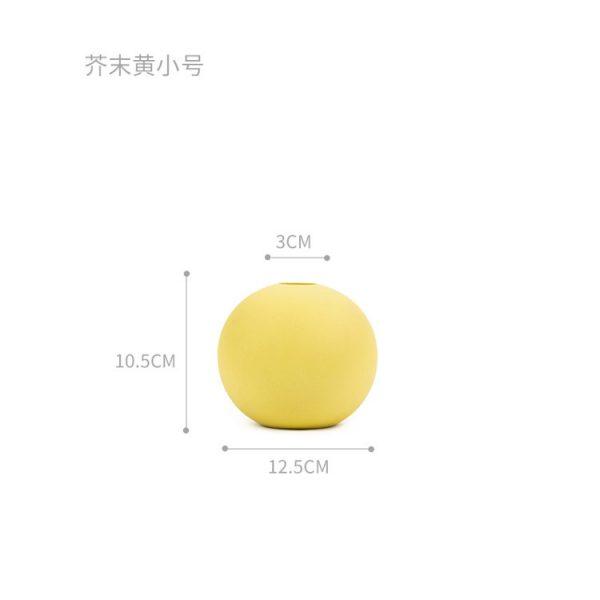 1JC21004 Cooee Ball Vase China Maker (39)