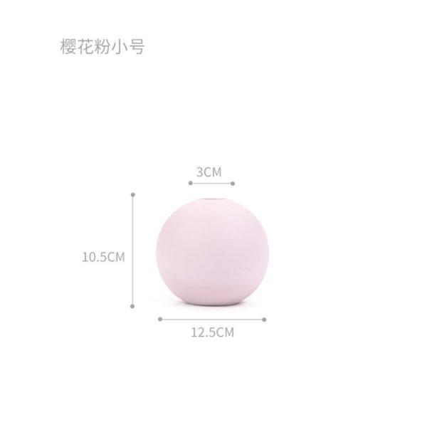 1JC21004 Cooee Ball Vase China Maker (40)