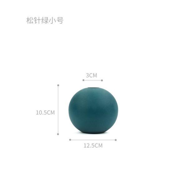 1JC21004 Cooee Ball Vase China Maker (42)