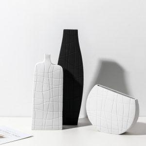 1JC21025 Vase en céramique modern ceramic vase sale (1)