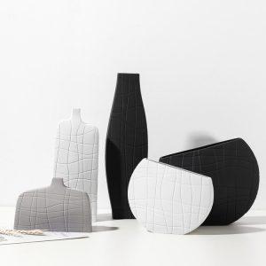 1JC21025 Vase en céramique modern ceramic vase sale (5)