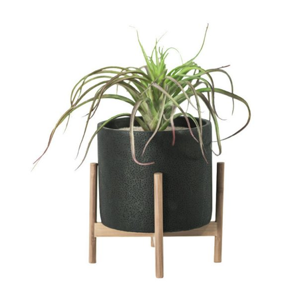 1JC21073 Wood Stand Flower Pot China Factory (2)