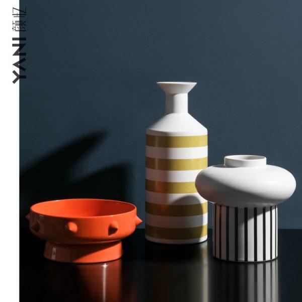 1JC21076 Nordic Ceramic Vase China Maker Sale (1)
