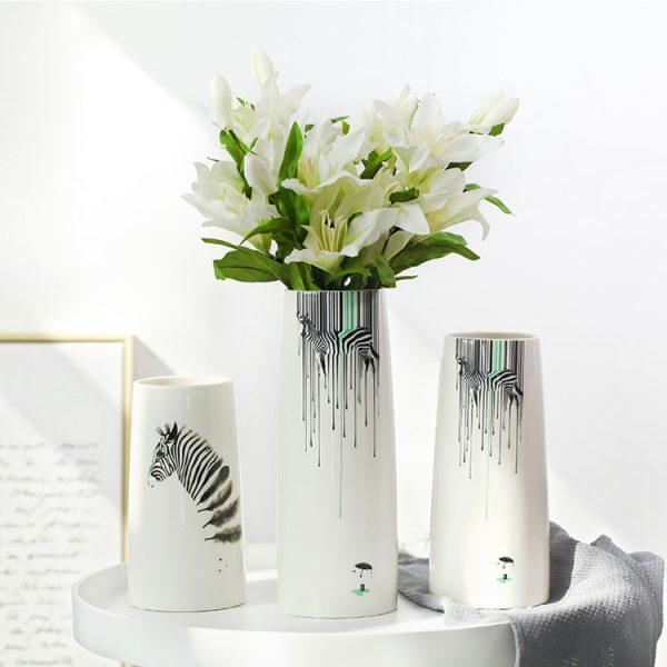 1JC21082 vase à fleurs en céramique (1)