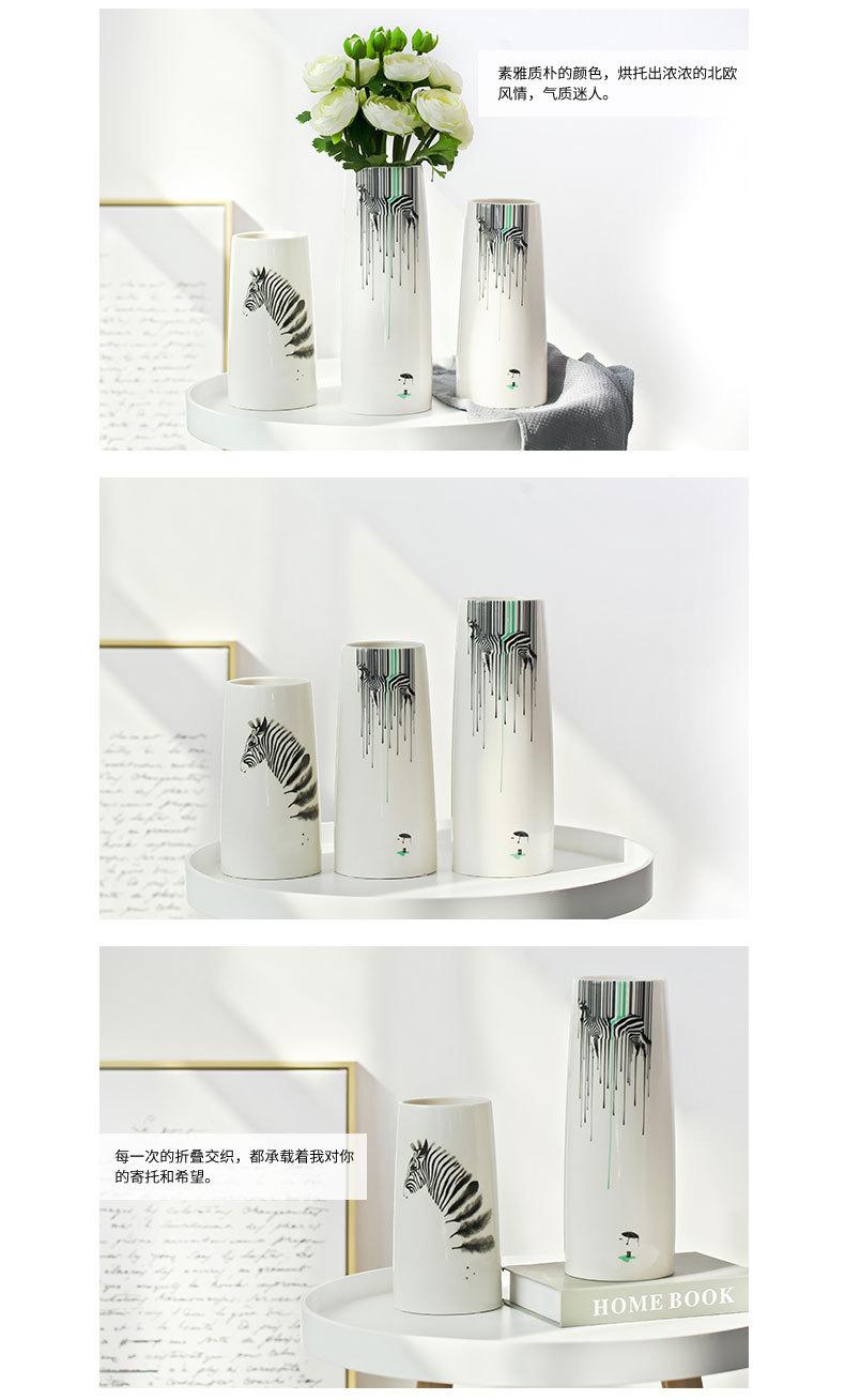 1JC21082 vase à fleurs en céramique (10)