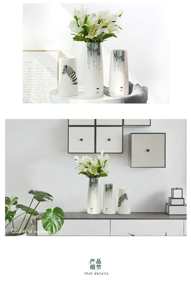 1JC21082 vase à fleurs en céramique (11)