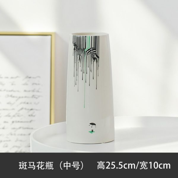 1JC21082 vase à fleurs en céramique (14)