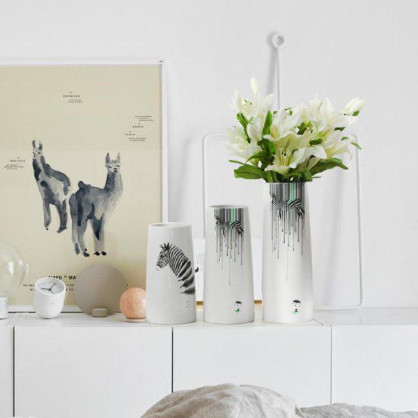 1JC21082 vase à fleurs en céramique (3)