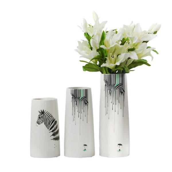 1JC21082 vase à fleurs en céramique (5)