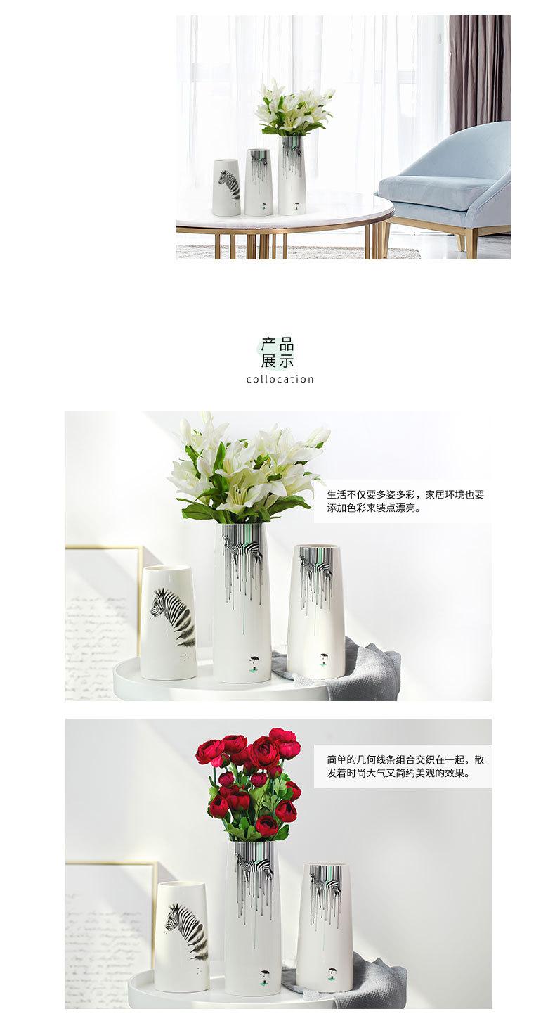 1JC21082 vase à fleurs en céramique (9)