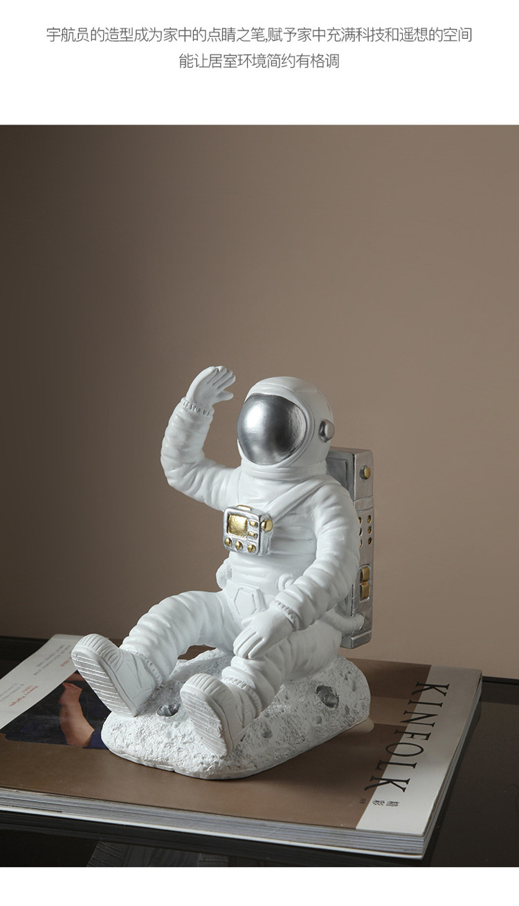 1JC21085 Astronaut Bookends China Factory Online Sale (11)