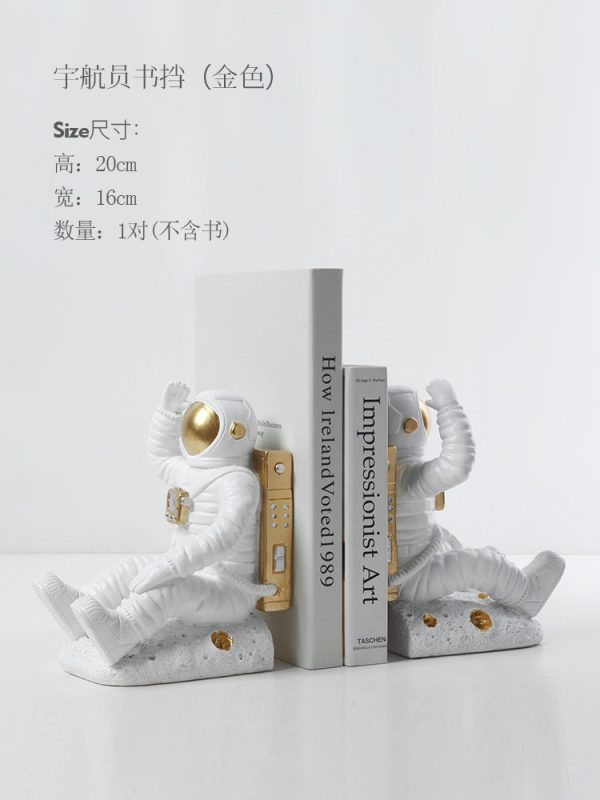 1JC21085 Astronaut Bookends China Factory Online Sale (17)