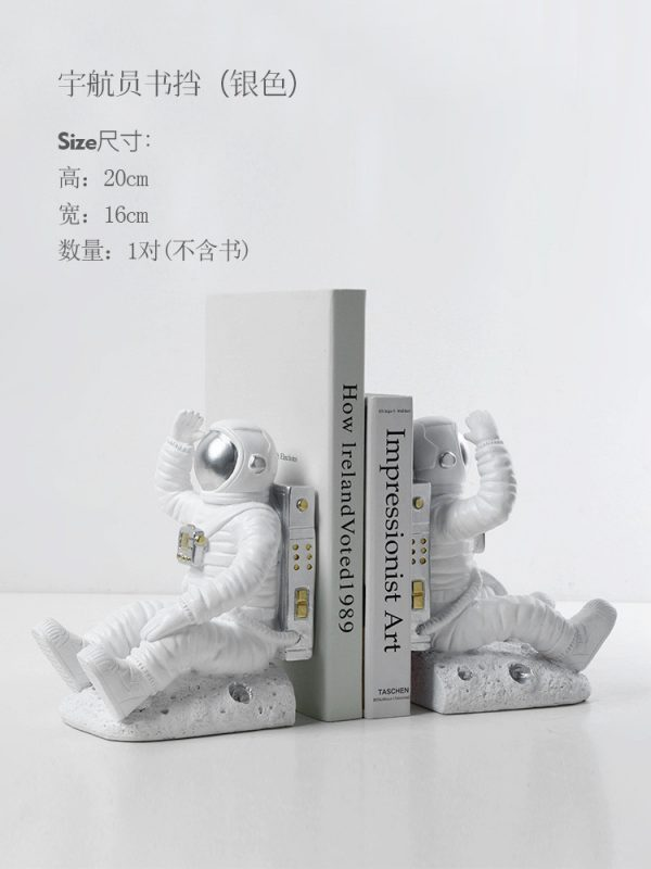 1JC21085 Astronaut Bookends China Factory Online Sale (18)