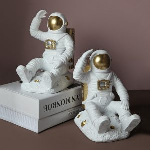1JC21085 Astronaut Bookends China Factory Online Sale (2)