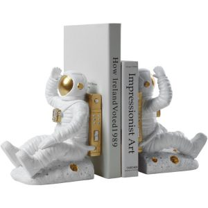 1JC21085 Astronaut Bookends China Factory Online Sale (3)