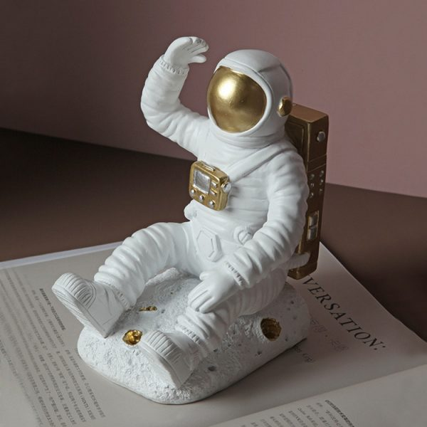 1JC21085 Astronaut Bookends China Factory Online Sale (4)