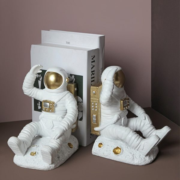 1JC21085 Astronaut Bookends China Factory Online Sale (5)