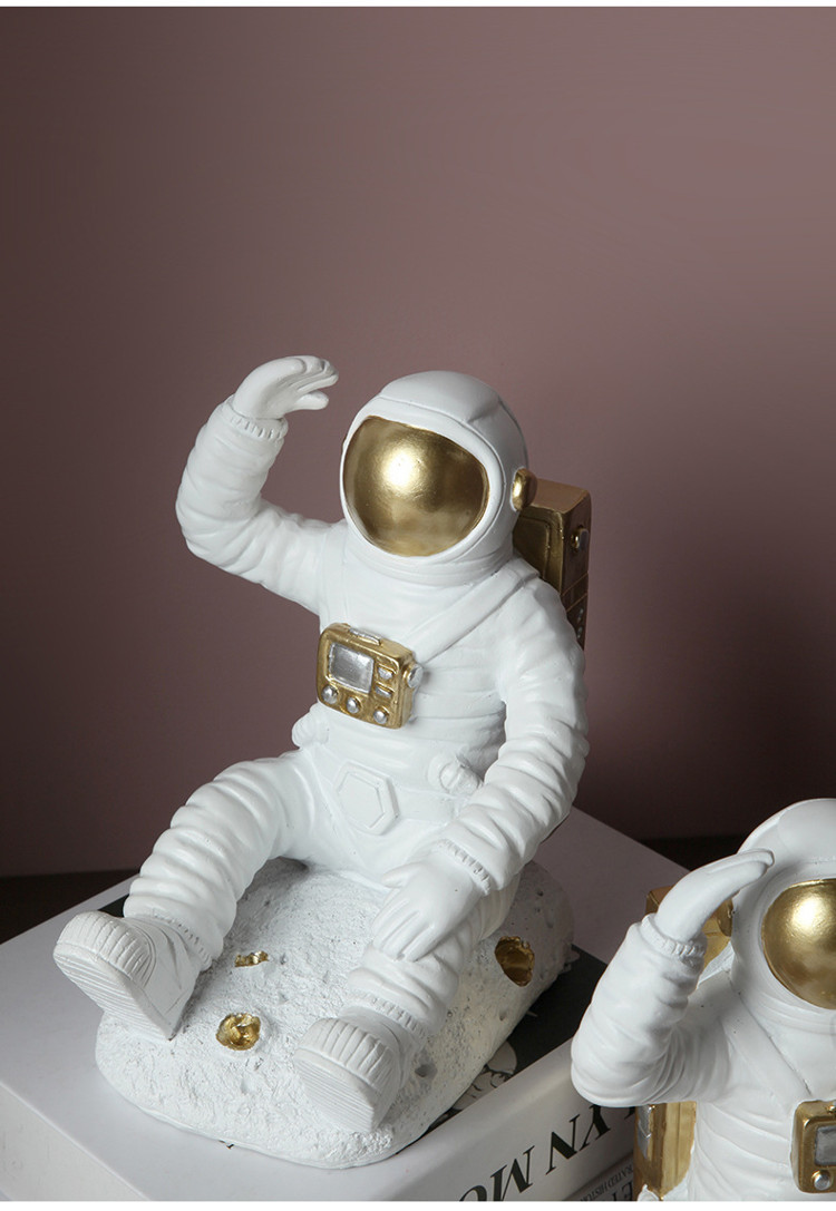 1JC21085 Astronaut Bookends China Factory Online Sale (8)