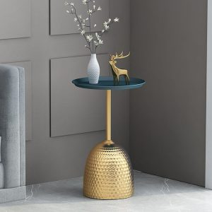 1L610015 Small Round Metal Side Table Factory (30)