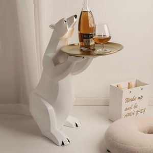1L610024 Polar Bear Side Table Online Sale (15)