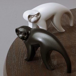 1K820002 Scultura Ceramica Scimmia (2)