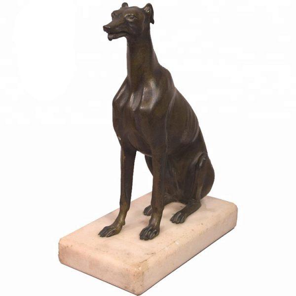 1J208014 Life Size Dog Statue Resin (3)